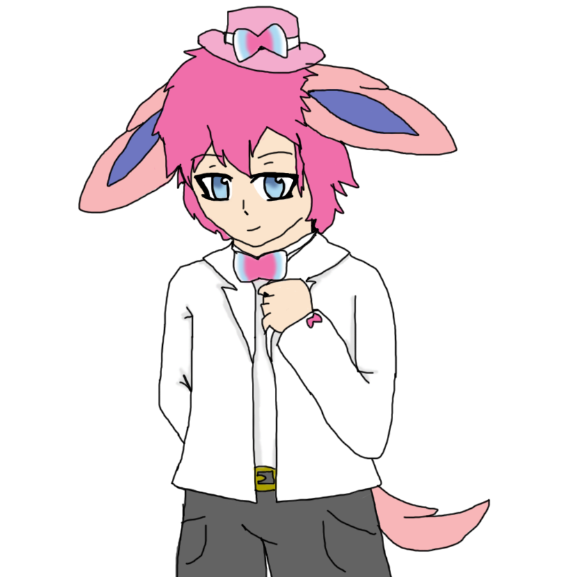 Sylveon human - Cherry's Commission..png